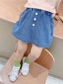 橘汁家女童半身裙牛仔裙洋氣夏天兒童裙子春秋童裝寶寶小女孩短裙