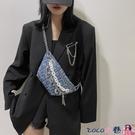 熱賣胸包 網紅包包新款潮斜背包女百搭洋氣2021時尚高級感胸包腰包【618 狂歡】