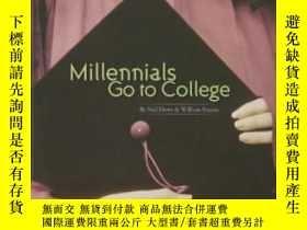 二手書博民逛書店Millennials罕見Go To College-千禧一代上大學Y436638 Neil Howe; Wi