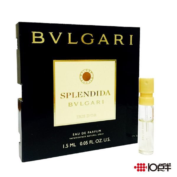 BVLGARI 寶格麗 明彩馨香女性淡香精 1.5ml (針管香水) *10點半美妝館*