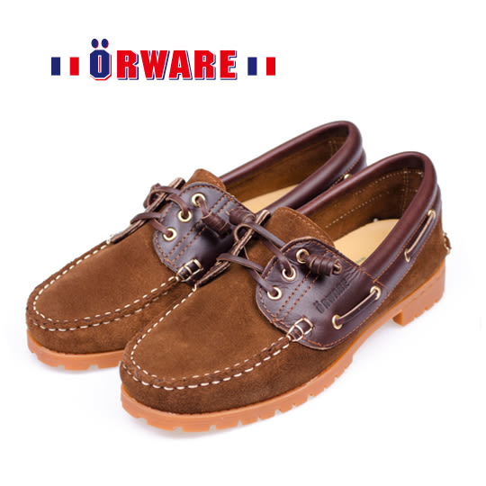 ORWARE-「超柔軟」MIT變形雷根鞋/女款 652022-06(棕)