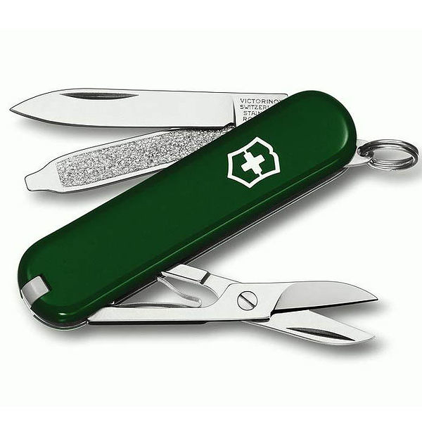 瑞士 維氏 Victorinox Classic sd 瑞士刀 0.6223.4 墨綠  露營│登山│背包客│渡假打工