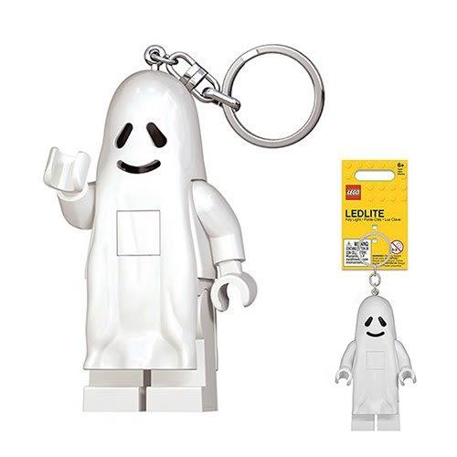 《 樂高積木 LEGO 》LED 燈鑰匙圈 - 幽靈╭★ JOYBUS玩具百貨