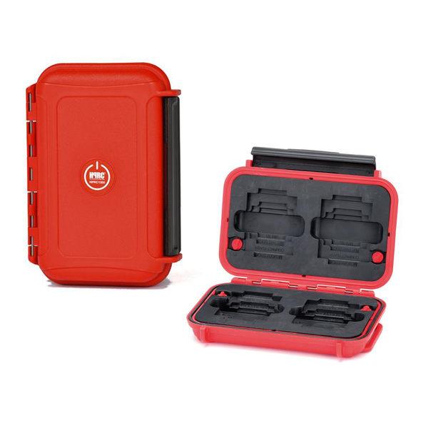 黑熊館 義大利 HPRC 1300 MEMORY 記憶卡收納盒 紅色 氣密箱 防水防撞