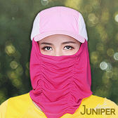遮陽帽子-戶外抗UV防紫外線單車騎車自行車透氣騎行帽面罩口罩J7568 JUNIPER