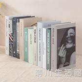 北歐風格裝飾品假書仿真書拍照道具書客廳臥室樣板間創意模型擺設 晴川生活館