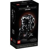 樂高積木 LEGO《 LT75274》STAR WARS 星際大戰系列 - TIE Fighter Pilot™ Helmet / JOYBUS玩具百貨