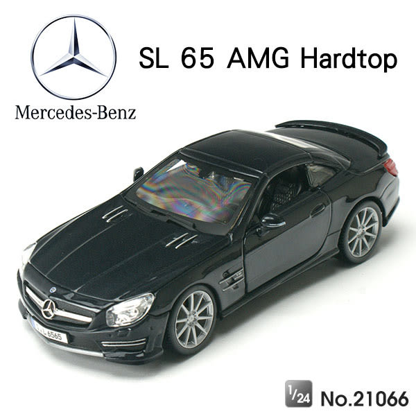 Amuzinc酷比樂 原廠授權合金車 1/24 賓士 SL 65 AMG Hardtop