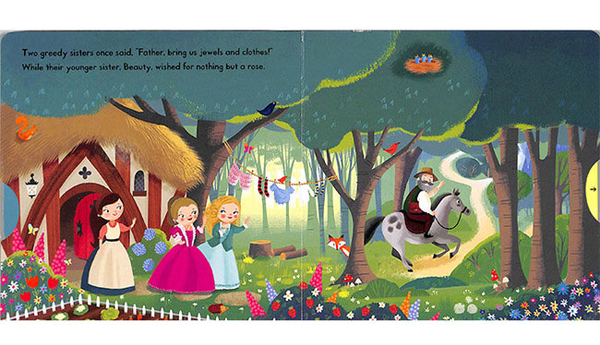 First Stories:Beauty And The Beast 美女與野獸 硬頁拉拉操作書