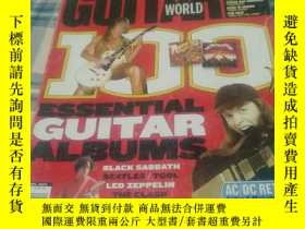 二手書博民逛書店guitar罕見world 吉他世界雜誌Y263489