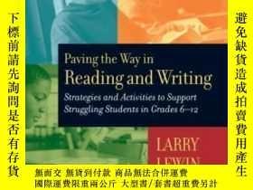 二手書博民逛書店Paving罕見The Way In Reading And Writing: Strategies And Ac