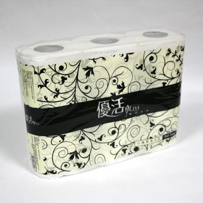 優活小捲筒衛生紙6X10包/箱