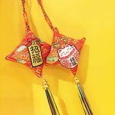 手機掛飾 日式和風新年招財貓車載掛件福氣御守平安床頭吊件手機鑰匙包掛飾 玩趣3C