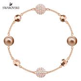 施華洛世奇 Remix Collection 玫金色璀璨水晶珠飾鏈