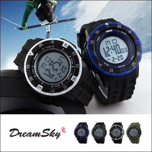 DreamSky 時刻美 SKMEI 簡約光動 時尚 手錶 男錶 女錶 對錶 流行錶 冷光 多款 顏色 圓錶 秒錶 計時