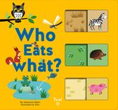 Who Eats What? 動物們吃什麼? 配對遊戲書