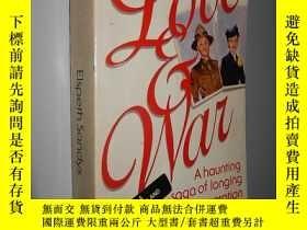 二手書博民逛書店Love罕見and War by Elspeth Sandys