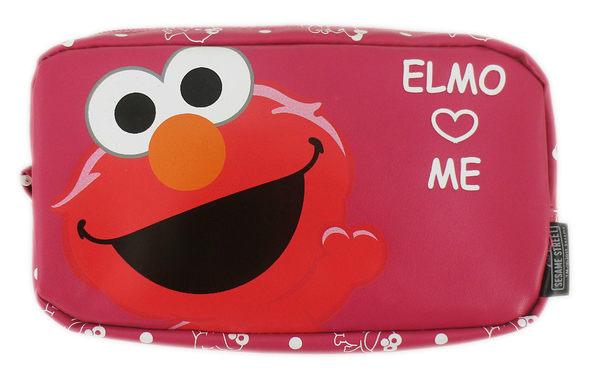 【卡漫城】 芝麻街 筆袋 ㊣版 拉鍊 鉛筆盒 防水 化妝包 收納袋 萬用包 鉛筆袋 Elmo Sesame Street