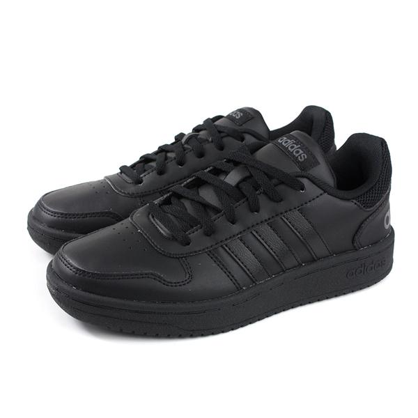 adidas HOOPS 2.0 運動鞋 慢跑鞋 黑色 女鞋 EE7897 no760