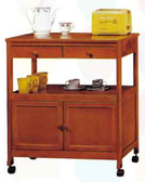 【南洋風休閒傢俱】 櫃系列-實木單抽雙門收納櫃櫥櫃置物櫃餐櫃碗碟櫃CY 263