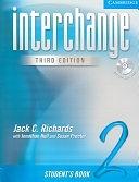 二手書博民逛書店《Interchange Student s Book 2 with Audio CD》 R2Y ISBN:0521601940