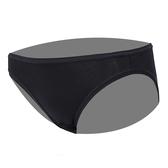 思薇爾-E-SOFT系列M-XXL素面低腰三角內褲(黑色)
