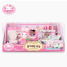 《 Konggi Rabbit 兔寶家族 》夢幻浴室組╭★ JOYBUS玩具百貨