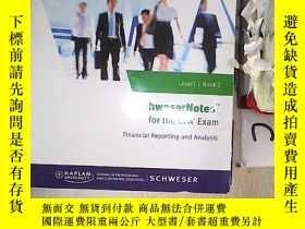 二手書博民逛書店CFA罕見2017 Exam Prep Level 1 Book 3 CFA 2017年備考1級第3冊(032)奇