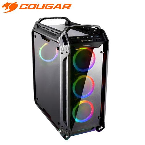COUGAR 美洲獅 PANZER EVO RGB 電腦 機殼 四面全景鋼化玻璃