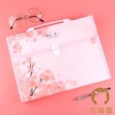 手提式A4文件夾多層韓版可愛整理收納袋大容量【宅貓醬】