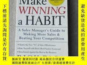 二手書博民逛書店Make罕見Winning a HabitY21478 Rick