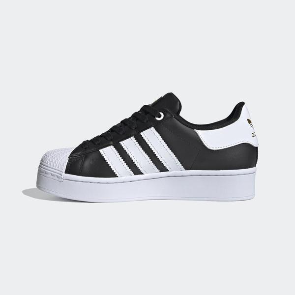 Adidas Bold W [FV3335] 女鞋 運動 休閒 慢跑 潮流 舒適 避震 穿搭 經典 貝殼 愛迪達 黑白
