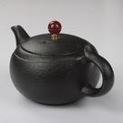 茶壺 320ml大容量茶壺黑陶瓷粗陶單壺泡茶大號復古創意中式 城市科技