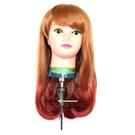 【萬聖節搞怪假髮】美麗學分 M-1003 挑染整頂假髮 (褐紅) [41096]