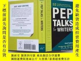 二手書博民逛書店Pep罕見Talks for Writers: 52 Insig