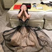 晚禮服裙女長款宴會裝性感氣質名媛
