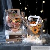向日葵模擬花花束送女友七夕香皂花玫瑰花情人節創意實用生日禮物  夏季新品