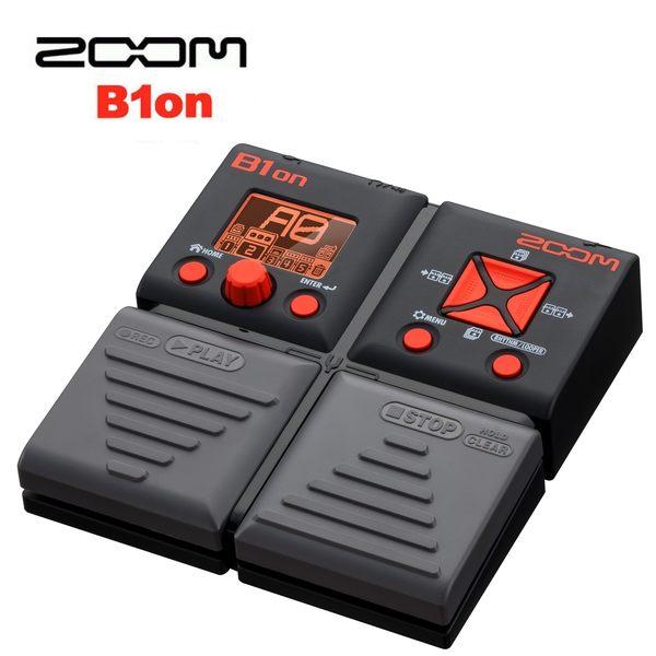 【非凡樂器】ZOOM B1on 電貝斯綜合效果器 / 贈整流器&導線 公司貨保固
