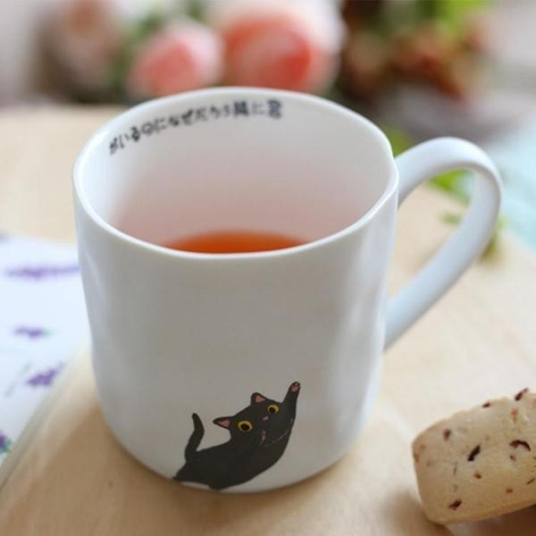 貓爪杯 日式貓爪杯 zakka卡通咖啡杯女 貓咪馬克杯 陶瓷杯 個性創意潮流水杯