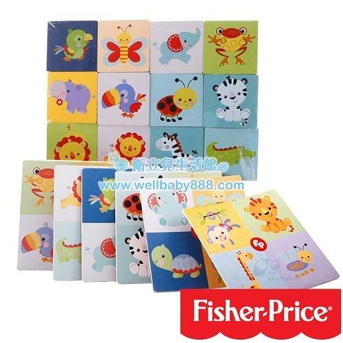 費雪牌 Fisher-Price可愛動物配對樂Matching animals board game