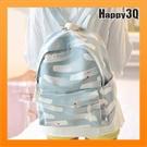 後背包書包雙肩包學生包旅行包日系小清新棉布學生可放A4包包大容量-綠/藍/深藍【AAA3097】預購