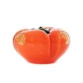 金箔柿子琉璃藝品 9.5cm