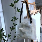 透明包夏季新款透明手提包女包包ins單肩包潮流包女 伊莎公主