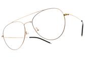 CARIN 光學眼鏡 GEMMA C1 (金-黑) 韓星秀智代言 韓系復古雙槓款 # 金橘眼鏡