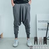 棉質束口褲/飛鼠褲【FM1006】OBIYUAN 韓風厚磅素面休閒褲共3色