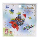 Kamio 閃亮造型散裝貼紙包 手帳貼 裝飾貼 迪士尼 玩具總動員 火箭 白_KM24574