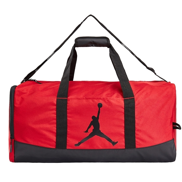 NIKE 手提包 JORDAN TRAINER 旅行袋 健身袋 置鞋夾層 大容量 紅黑 (布魯克林) JD933034GS002