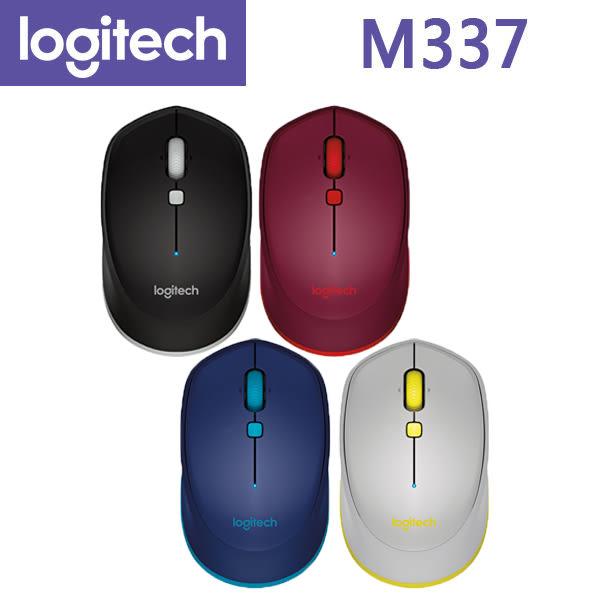 【免運費-隨貨贈品】Logitech 羅技 M337 藍芽 無線滑鼠 (4色)