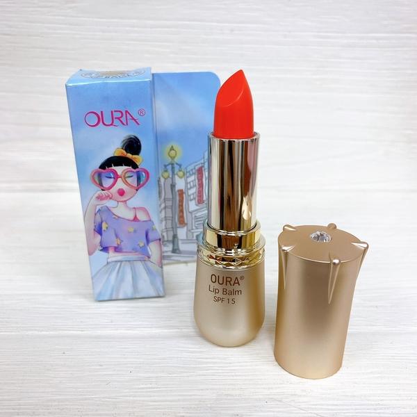 【花想容】韓國 OURA 馬油修復護唇膏 3.3g 潤唇膏 SPF15