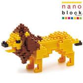 【日本KAWADA河田】Nanoblock迷你積木-獅子 NBC-057